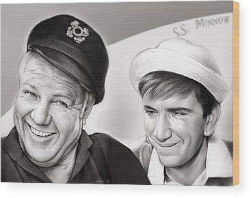 Skipper Wood Prints