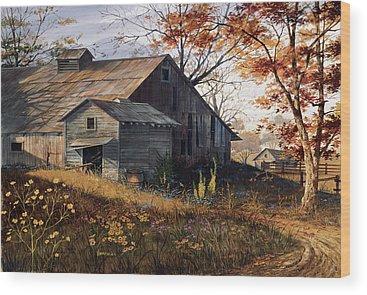 Americana Wood Prints