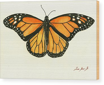 Monarch Butterfly Wood Prints