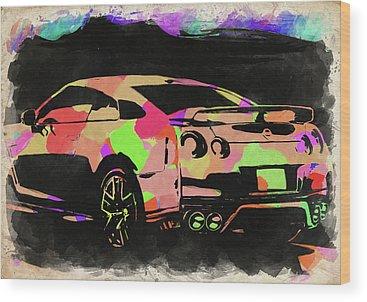 Designs Similar to Nissan Skyline Gtr Watercolor