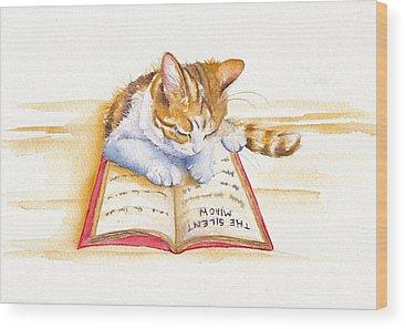Calico Cat Wood Prints