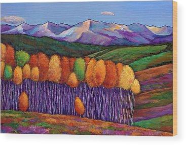 Autumn Colors Wood Prints