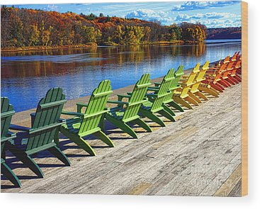 Kennebec River Wood Prints