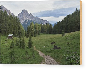 Alps Wood Prints