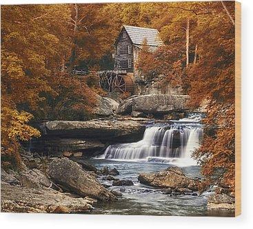 Mill Creek Wood Prints