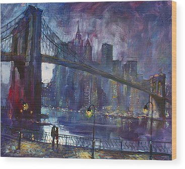 Bridge Wood Prints