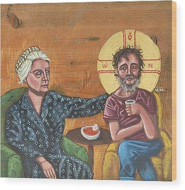 Icons Wood Prints