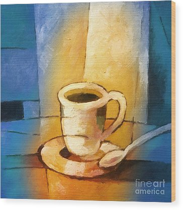 Cup Of Coffee Wood Prints