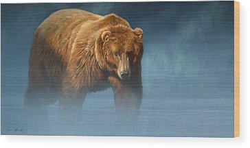 Bears Wood Prints