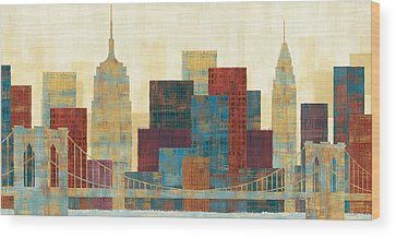 Skyline Wood Prints