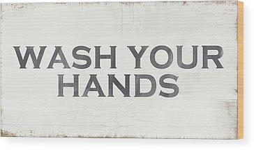Hand Signs Wood Prints