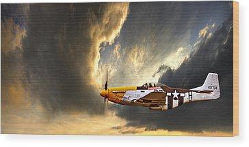 Airplane Wood Prints