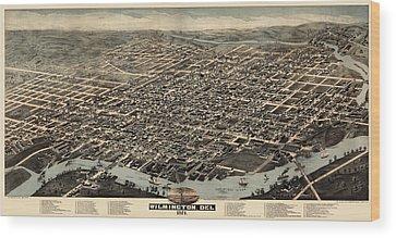 Wilmington Delaware Wood Prints