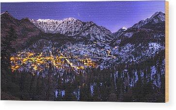 Colorado Landscapes Wood Prints