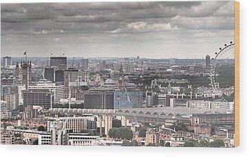 London Skyline Wood Prints
