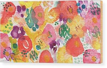 Floral Wood Prints