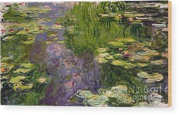Pond Wood Prints