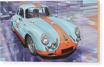 Automotive Wood Prints
