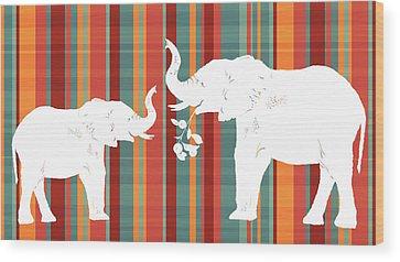 Plaid Wood Prints