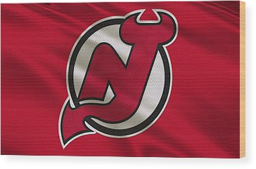 New Jersey Devils Wood Prints