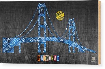 Mackinac Wood Prints