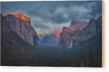 Yosemite National Park Wood Prints