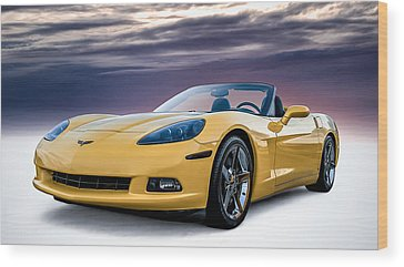 Corvette Wood Prints