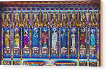 Westminster Abbey Wood Prints