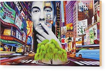 Times Square Wood Prints