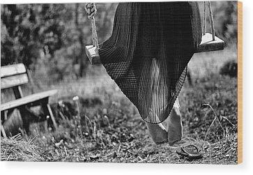 Swings Wood Prints