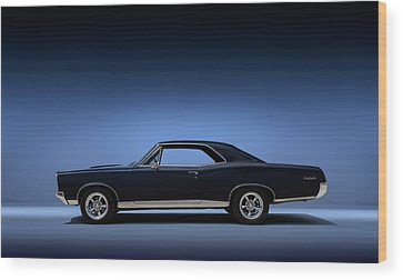 American Muscle Cars Wood Prints