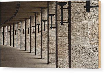Pillars Wood Prints