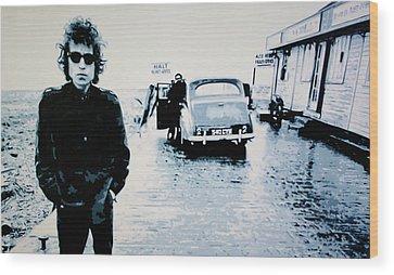 Bob Dylan Wood Prints