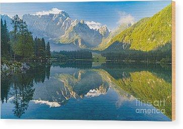 Mont Blanc Wood Prints