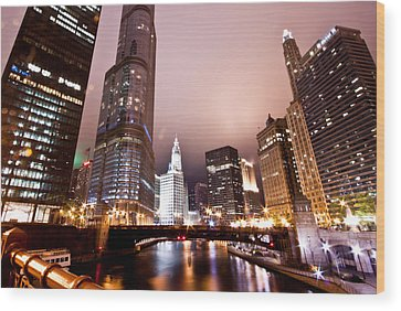 Chicago Tribune Wood Prints