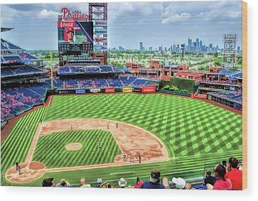 Citizens Bank Park Wood Prints