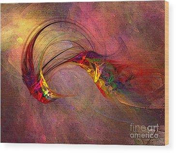 Abstract Hummingbird Wood Prints