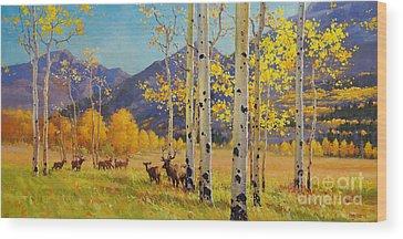 Elk Wood Prints