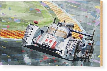 Audi R18 Wood Prints