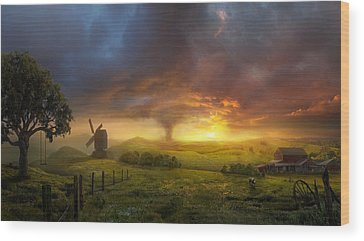 Sunset Wood Prints