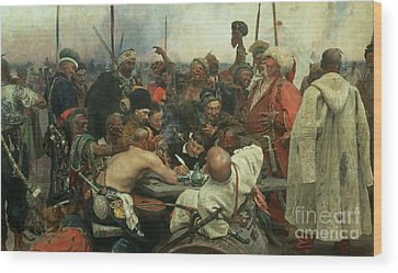 Ilya Repin Wood Prints