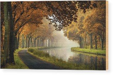 Canal Park Wood Prints