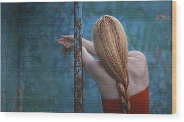 Braided Hair Wood Prints