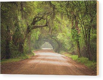 Gravel Road Wood Prints