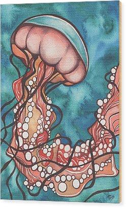 Swimmer Wood Prints