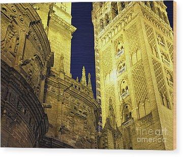 Catedral De Sevilla Wood Prints
