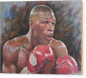 Boxer Wood Prints