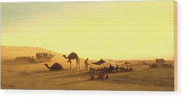 Encampment Wood Prints