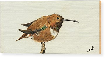Rufous Wood Prints