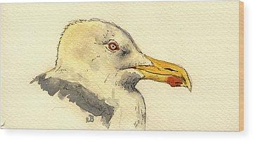 Gull Wood Prints